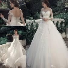 modern wedding dresses discount milva bridal vintage lace modern princess wedding dresses