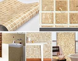 all about home decoration furniture kitchen wall tiles amazon com wall paper adhesive self adhesive mosaic wall paper