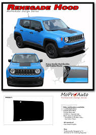 jeep renegade light blue 2014 2017 jeep renegade hood center solid 3m pro vinyl graphics