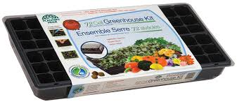 Greenhouse Starter Kits Amazon Com Planters Pride Rza0809 72 Cell Seed Starter