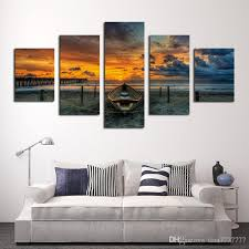 canvas decorations for home unframed large hd seascape with ship painting top rated canvas print