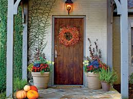 home fall decor 16 ways to spice up your porch décor for fall southern living