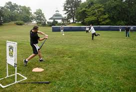 time to play ball at new greenwich wiffle ball field greenwichtime
