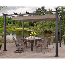 English Garden Pergola by Better Homes And Gardens Meritmoor Aluminum Steel Pergola With