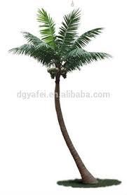 sale high imitation artificial coconut tree bend trunk