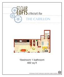 carillon st clair lofts