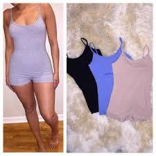 one shorts jumpsuit live fabulously boutique strappy cotton shorts jumpsuit