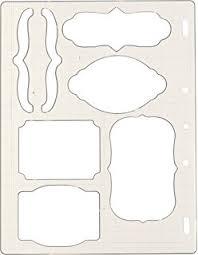 amazon com fiskars circle shape template