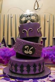 masquerade sweet sixteen tilted cake sweet 16 cakes 16 cake and