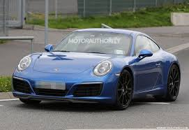 porsche 911 facelift 2016 porsche 911 and