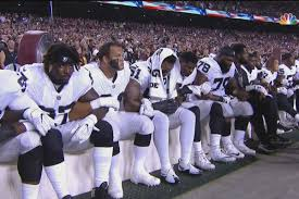 The National by Raiders U0027 Entire Ol And Several Teammates Protested During National