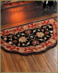 Design Ideas For Half Circle Rugs Fireside Rugs Half Moon Home Design Ideas Stylish Throughout 14