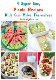 Kids Picnic Basket 9 Super Easy Picnic Recipes Kids Can Make Our Family World