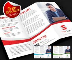 brochure 3 fold template psd 40 print ready brochure templates free and premium