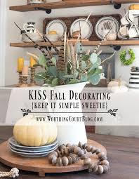 fall decorating rustic farmhouse fall shelves and