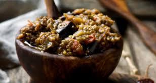cuisine aubergine roasted aubergine dip recipe by ndtv food ndtv food