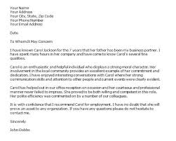 how to write professional reference letter
