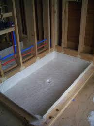 shower pans custom fiberglass installations