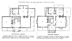 Architectural Floor Plan by Greenberg Godey U0027s Lady U0027s Book Drawing Instruction And Architectural