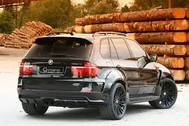 Bmw X5 Lifted - g power typhoon black pearl based bmw x5 pushes 625hp