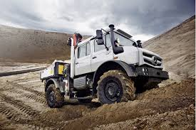 mercedes work truck mercedes unimog work in style industry tap