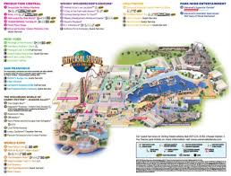 Map Of Hollywood Studios Maps Of Universal Orlando Resort U0027s Parks And Hotels