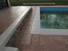 Decorative Concrete Kingdom Fixing Slippery Stamped Concrete Near Pools Concrete Decor