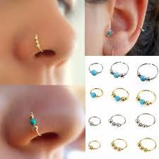 aliexpress nose rings images Buy 3pcs set fashion retro round beads nose ring jpg