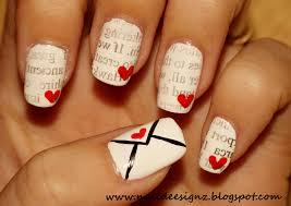 nail designs letters nail arts