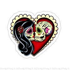 sugar skull couple drawing popular items for sugar skull couple on