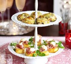 canapes recipes potato stackers recipe food