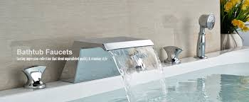 bathtub faucet set incredible bathtub faucets with regard to chrome finish single