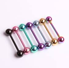 nipple rings women images 14g straight bar barbell tongue rings body jewelry titanium steel jpg