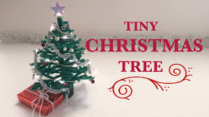 tiny christmas tree pipe cleaner diy youtube