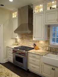 kitchen with brick backsplash modest ideas brick veneer backsplash merry kitchen 12702