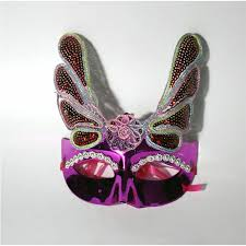 cheap mardi gras masks 2018 women eagle led light mask mardi gras