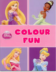 disney princess colour fun colouring book amazon uk toys u0026 games