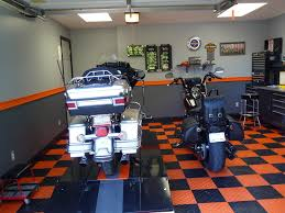 Harley Davidson Home Decor by My New Harley Man Cave The Garage Journal Board