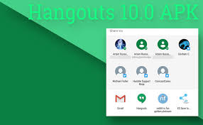 hangouts update apk hangouts v10 0 for android adds direct support apk