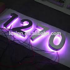 house number light box colorful custom outdoor house number light box buy house number