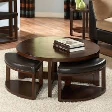 round dressing room ottoman table with ottomans underneath coffee table with ottoman underneath