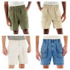 Comfort Waist Mens Shorts St John U0027s Bay Men U0027s Shorts Ebay