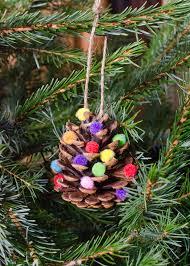 christmas home made decorations homemade christmas decorations pom pom pine cones growing family