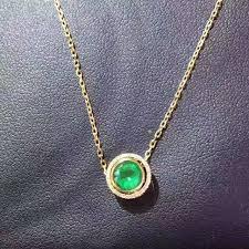 emerald gemstone necklace images Natural green emerald pendant s925 silver natural gemstone pendant jpg