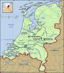 netherlands height map netherlands facts destinations and culture