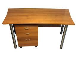 boconcept cherry desk and file cabinet chairish
