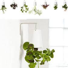 garden home office hanging plant pot plastic upside down flower