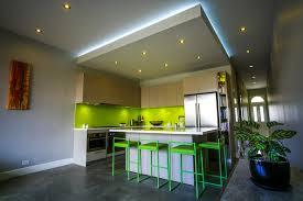 Kitchen Drop Ceiling Lighting Zen S House Contemporary Kitchen Sydney By Zugai Strudwick