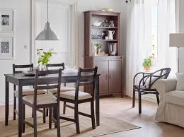 Dining Room Seat Covers Dining Room Table And Chairs Ikea A Dining Room With A Black Brown