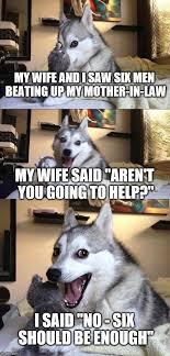 Law Dog Meme - bad pun dog meme imgflip